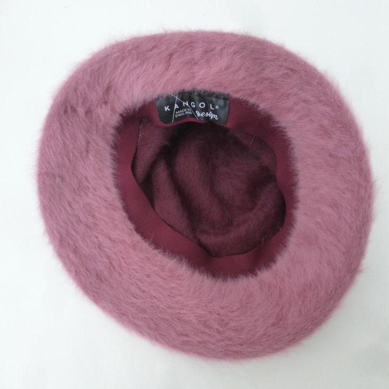d99d46635c2 Vintage hat womens chic accessory retro pink   plum furgora