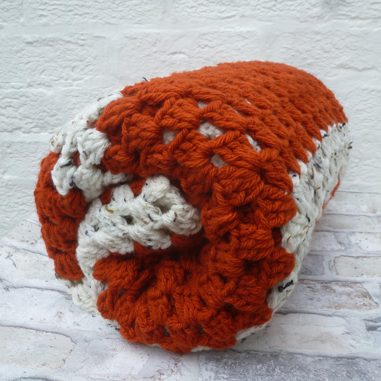 Official Website Crochet Blanket/throw New Large Chunky Handmade Campervan Home Home Décor Home & Garden
