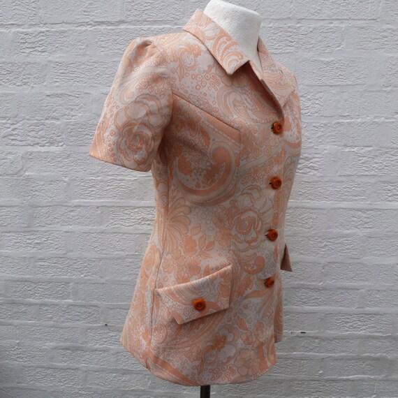 Jacket '60s  handmade clothing, Vintage blazer sh… - image 5