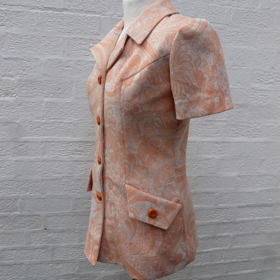 Jacket '60s  handmade clothing, Vintage blazer sho