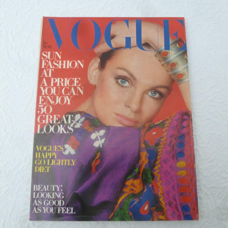 Fashion Magazine Beauty Vintage Vogue 1970s Museum