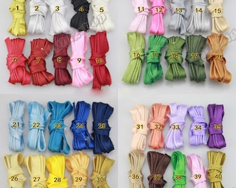 10Yards Satin bias tape lip cotton fabric Cord Edge Rope Ribbon upholstery Sewing piping trims