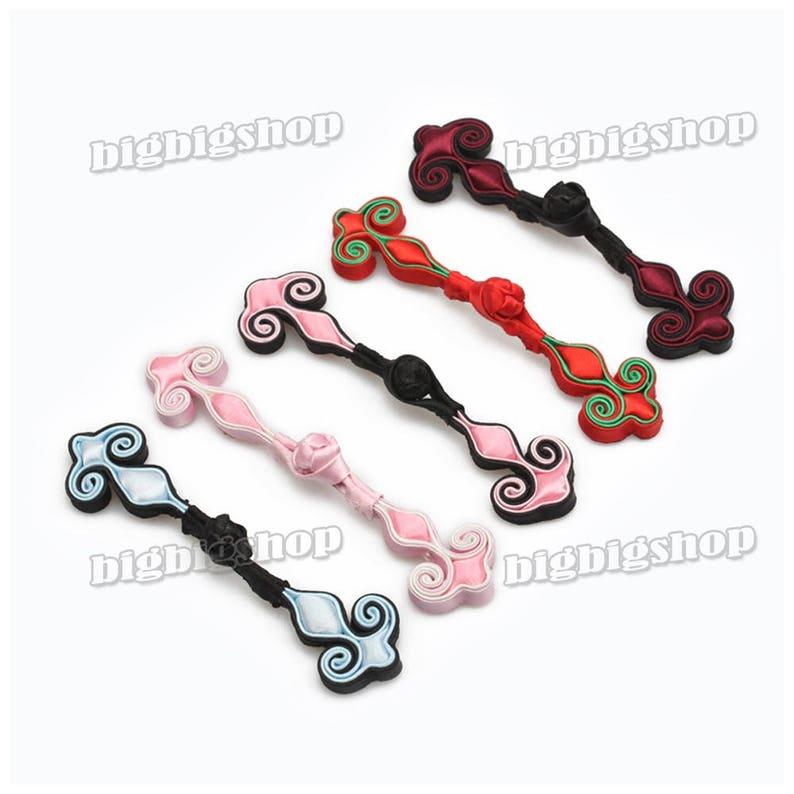 Sewing Fasteners knotting Fabric Chinese Timothy-grass  decorative knots Cheongsam Frogging Button