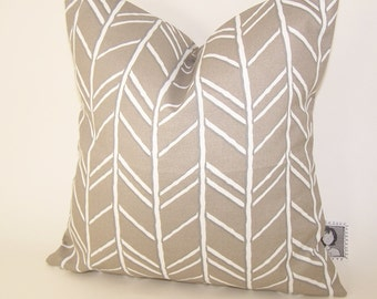 Beige Outdoor Pillow -  Tan PILLOW - Outdoor - Various Sizes - Vine - Nautical - Seashore - Cove - Accent Pillow - 20x20,18x18,22x22