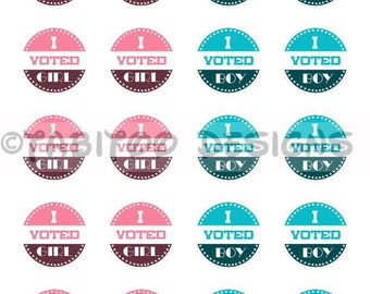 photo about I Voted Stickers Printable referred to as I voted stickers Etsy
