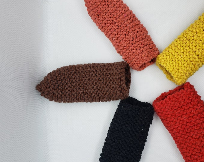 Knitted Pan Handle Cover, Knitted Cast Iron Pan Handle Cover