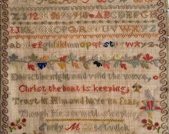 Though He Seemeth Sleeping PDF Cross Stitch Chart