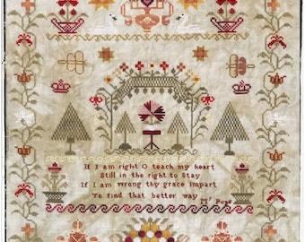 Maria Casson 1822 PDF Cross Stitch Chart