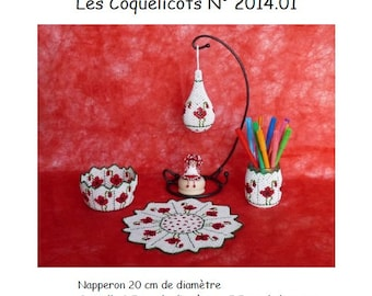 Cath pearls: 2014.01 poppies