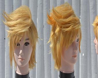 Prompto Argentum Custom Cosplay Wig