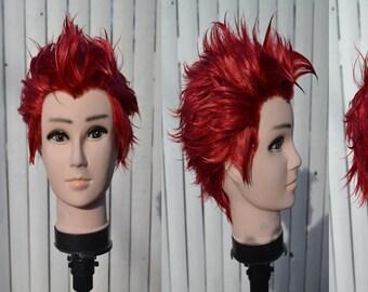 Rwby Adam Taurus custom wig cosplay