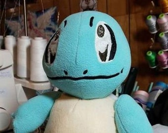 Squirtle Pokemon plush