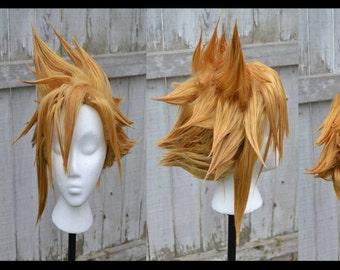 Custom made cloud wig final fantasy 7