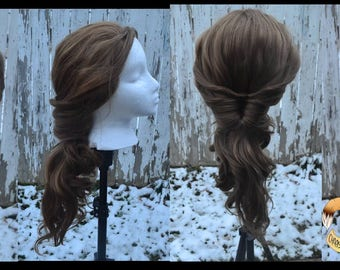 Belle town style wig from Beauty and The Beast