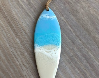 Surfboard Tree Ornament