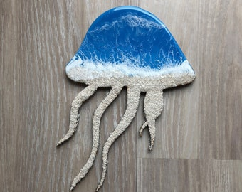 "12"" Jellyfish Wall Art"