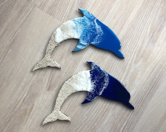 "12"" Dolphin Wall Art"