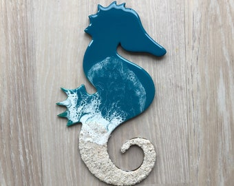 "12"" Seahorse Wall Art"
