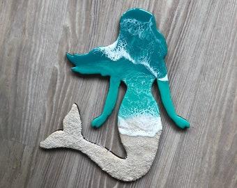 "12"" Mermaid Wall Art"