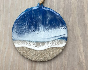 Resin and Sand Ornament