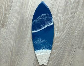 "18"" Resin Surfboard Wall Art"