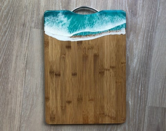 Bamboo and Resin Cheese Board