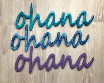 """24"""" Ohana Sign"""
