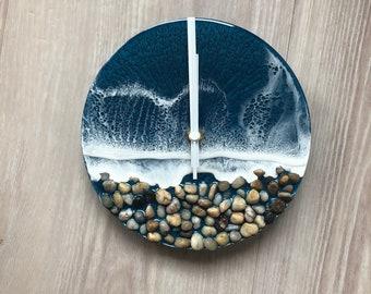 Resin Beach Clock
