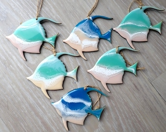 Fish Resin Tree Ornament