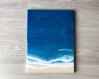 "12""x16"" Resin Beach Wall Art"