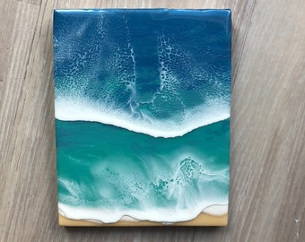 "8""x10"" Resin Beach Art"