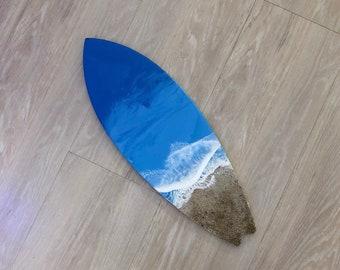 "24"" Resin Surfboard Wall Art"