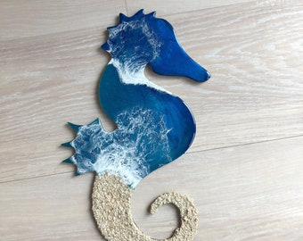 "18"" Seahorse Wall Art"