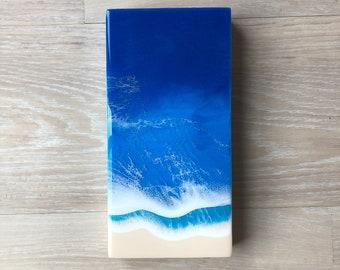 "6""x12"" Resin Beach Art"