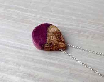 Mango Wood and Purple