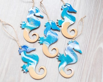 Seahorse Resin Tree Ornament