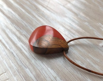 Koa Wood and Resin