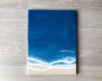 "12""x16"" Resin Beach Wall Art"