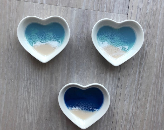 Featured listing image: Heart Shaped Ring Dish