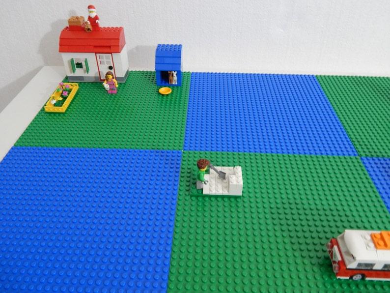 Large Brick Building Activity Storage Table 30