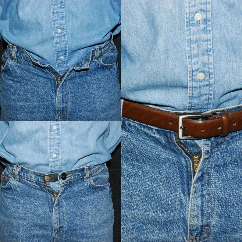 Ajustement Parfait Bouton ajouter un pouce à toute Jeans Pantalon à la taille en quelques secondes Jeans Bouton