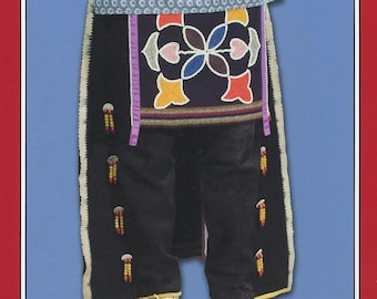 Native American Indian Breechclout & Leggings - Missouri River Sewing Pattern #006