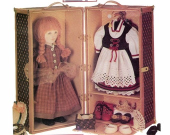 Vogue 9688 Doll Trunk & Small Accessory Boxes - Vintage Sewing Pattern