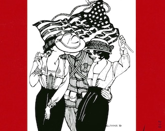 Folkwear Armistice Blouse Sewing Pattern # 210 WWI 1915-1920 era size Sm-3XL