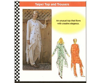 Dana Marie Taipei Top & Trousers Pants Sizes XS-5XL Sewing Pattern # 1018