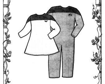 "Beyond the Stars Costume Pattern for 18"" Dolls - Dress, Jumpsuit Flight Suit - Primrose Lane Sewing Pattern # BTS018"