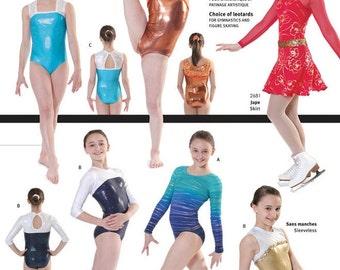 Jalie 2792 Leotards Sewing Pattern - Misses' & Girls' 22 Sizes - Sleeve and Neckline Options