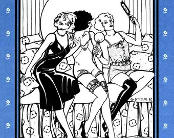 Folkwear Intimacies Sewing Pattern #219 Camisole, Tap Pants, Teddy & Slip size 8-22