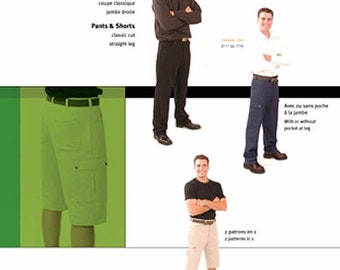 Jalie 2107 Pants & Shorts for Men, Teens and Boys in 22 Sizes - OOP Sewing Pattern