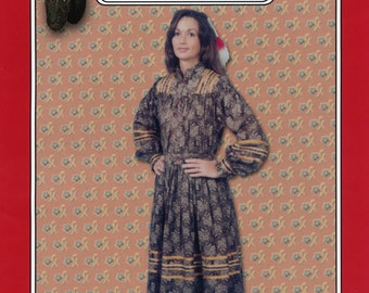 Native American Indian Cherokee Tear Dress sizes S-M-L-XL Missouri River Sewing Pattern # 016
